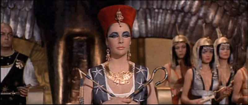 Cleopatra trucco cinema