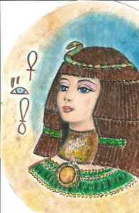 dipinto cleopatra
